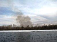 В Туве за сутки возник один пожар, один ликвидирован, один локализован