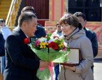 Кызылский колледж искусств награжден Орденом Республики