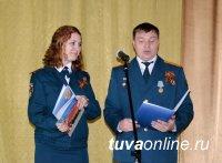 В канун Дня Победы пожарные Тувы поздравили ветеранов