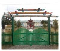 В Самагалтае будет возводиться методом народной стройки хурээ