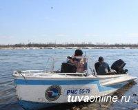 Кызыл: Спасатели возобновили поиски спрыгнувшей с моста девушки
