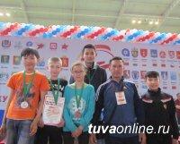 На турнире в Омске юные тхэквондисты Тувы завоевали четыре медали