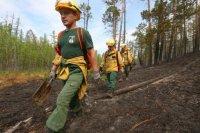 Рослесхоз направил в Туву 30 воздушных огнеборцев