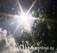 В Туве установилась сильная жара + 35, сохраняется высокая пожароопасность