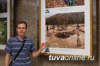 Тувинские скифы - на фото в метрополитене Москвы