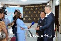 Павел Астахов ответил на вопросы журналистов Тувы