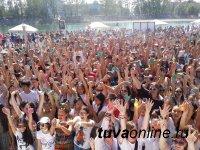 Кызыл: День молодежи прошел с размахом