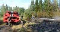 В Туве к вечеру вторника количество лесных пожаров сократилось до 32