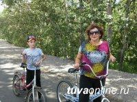 Кызыл: На велодорожке по дамбе Енисея могут появиться полезные «станции»