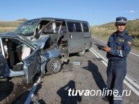 В Туве в первом полугодии задержано 2675 пьяных водителей
