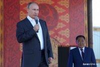 Президент России Владимир Путин поздравил Главу Тувы с Днем рождения по телефону