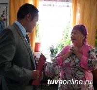 Ветерану Великой Отечественной войны Индижековой Ольге Митрофановне 90 лет