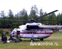 Авиация МЧС России привлекается на тушение лесных пожаров в Тоджинском районе Тувы