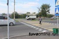 В выходные дни в Кызыле 43 водителя наказаны за неуважение к пешеходам
