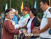 Тува: Большой детский фестиваль прошёл на берегах Чагытая