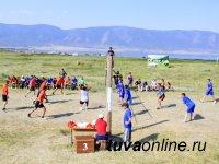 Тес-Хемские пожарные - самые спортивные среди подразделений МЧС Тувы