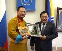 В Туву прибыл Почетный представитель Его Святейшества Далай-ламы Тэло Тулку Ринпоче