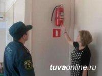 Тува: Пожнадзор проверяет места проведения выборов