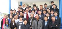 Досточтимый Барри Керзин прочитает лекции в Туве и Калмыкии