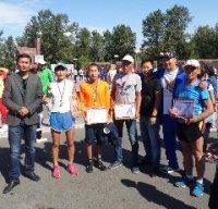 """Кызыл: В забеге """"Беги за мной"""" первым пришел постоянный победитель соревнований по бегу Аян-оол Кокку"""