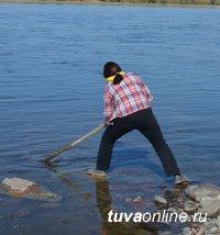 Кызылчане убрали родной город накануне Дня города