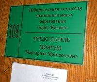На 4-х округах г. Кызыла с большим отрывом победили кандидаты от «Единой России»