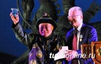 Ректора УрГЭУ наградили медалью Республики Тыва