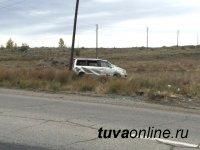 В Кызыле пьяный водитель «Оки» спровоцировал ДТП