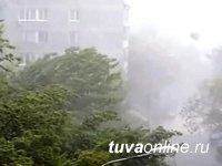 В трех районах Тувы из-за ветра произошло отключение электроэнергии, ведутся ремонтные работы
