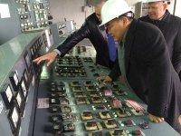 Глава Тувы проверил готовность Кызылской ТЭЦ к зиме