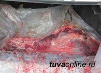 В результате рейда был приостановлен оборот 100 кг мясной продукции