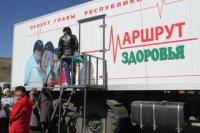 «Маршрут здоровья» обследовал жителей труднодоступного Тере-Хольского района Тувы