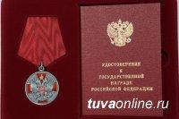 Президент России Владимир Путин вручил государственную награду Главе Тувы Шолбану Кара-оолу