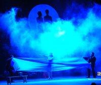 Любовь Толкалина на сцене Национального театра Тувы