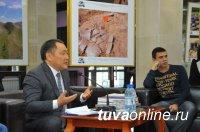 Глава Тувы ответил студентам-политологам ДВФУ на провокационные вопросы