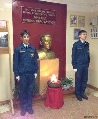 90 лет со дня рождения первого в истории Тувы Героя Советского Союза Михаила Бухтуева, погибшего в возрасте 18 лет