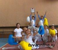 Черлидеры гимназии № 5 победители фестиваля «Здравствуйте, это мы! Мы живем ЗдорОво-здОрово!»