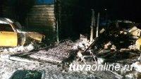 В Овюрском кожууне в пожаре погибли 3 детей