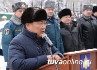 В Кызыле торжественно открыли новое здание Главного управления МЧС России по Республике Тыва