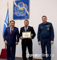 Бай-Тайгинский кожуун - лучший в Туве по обеспечению безопасности населения в 2015 году