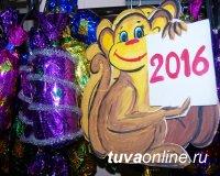 Авторские игрушки кызылчан украшают главную елку Тувы