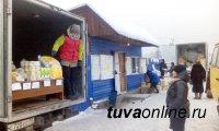 На левобережных и правобережных дачных обществах Кызыла организована продовольственная ярмарка