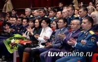 В Туве отметили День спасателя