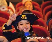Главная елка Тувы собрала 650 детей
