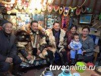 Тувинский актер снимается в монгольском фильме «Легенда Гоби»