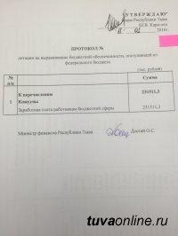 Глава Тувы потребовал выплатить учителям республики зарплату за декабрь и не допускать задержки в январе