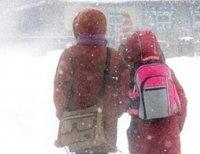 В Кызыле - 40 мороза, ученики 1-4 классов могут не посещать занятия