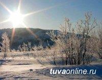 В Туве в феврале потеплеет