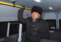 """В Кызыле на маршруте 11 начал работу в тестовом режиме микроавтобус """"Мерседес"""""""