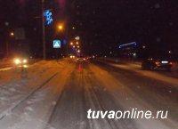 В Кызыле разыскивают водителя, совершившего наезд на беременную женщину на пешеходном переходе